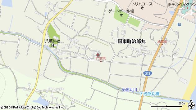 大分県国東市国東町治郎丸669周辺の地図