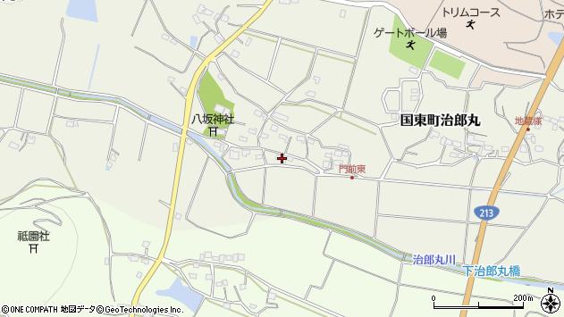 大分県国東市国東町治郎丸650周辺の地図