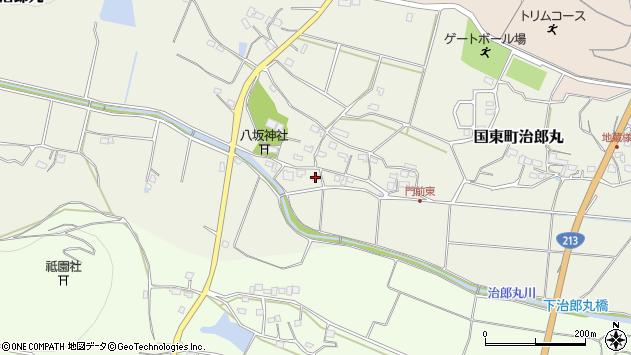 大分県国東市国東町治郎丸595周辺の地図