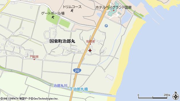 大分県国東市国東町治郎丸130周辺の地図