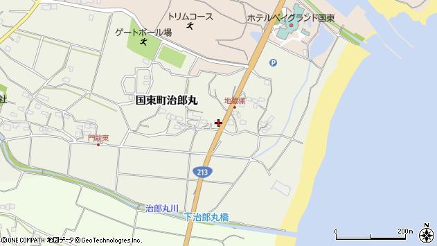 大分県国東市国東町治郎丸281周辺の地図
