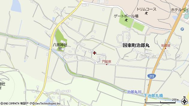 大分県国東市国東町治郎丸674周辺の地図
