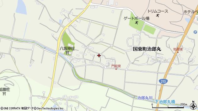 大分県国東市国東町治郎丸676周辺の地図