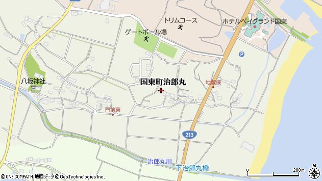 大分県国東市国東町治郎丸203周辺の地図