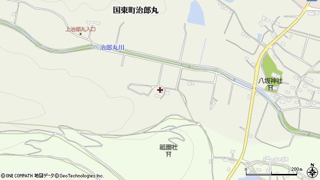 大分県国東市国東町治郎丸3047周辺の地図