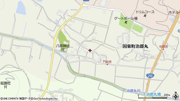 大分県国東市国東町治郎丸692周辺の地図
