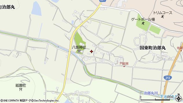 大分県国東市国東町治郎丸638周辺の地図