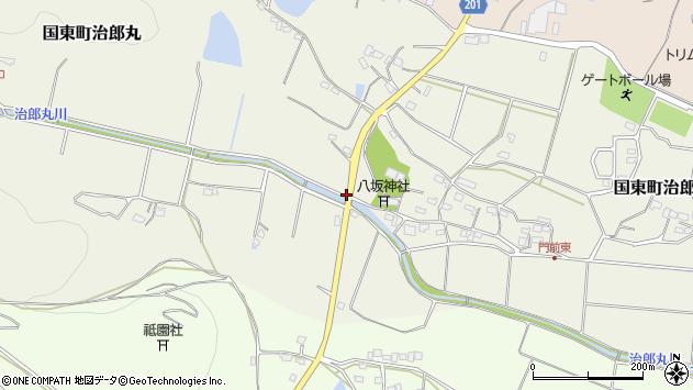 大分県国東市国東町治郎丸1018周辺の地図