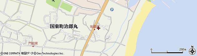 大分県国東市国東町治郎丸142周辺の地図