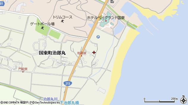 大分県国東市国東町治郎丸51周辺の地図