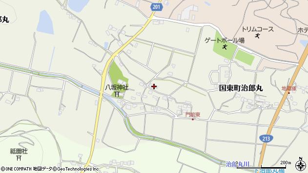 大分県国東市国東町治郎丸686周辺の地図