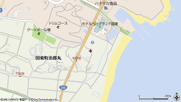 大分県国東市国東町治郎丸46周辺の地図