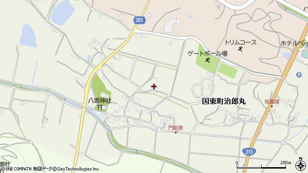 大分県国東市国東町治郎丸368周辺の地図