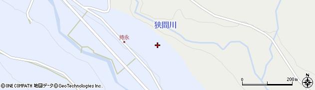 大分県国東市武蔵町麻田持永周辺の地図