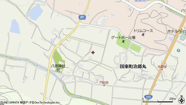 大分県国東市国東町治郎丸403周辺の地図