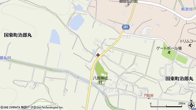大分県国東市国東町治郎丸351周辺の地図
