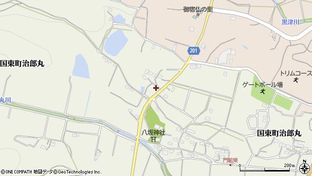 大分県国東市国東町治郎丸355周辺の地図