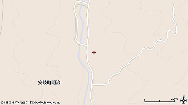 大分県国東市安岐町明治2180周辺の地図
