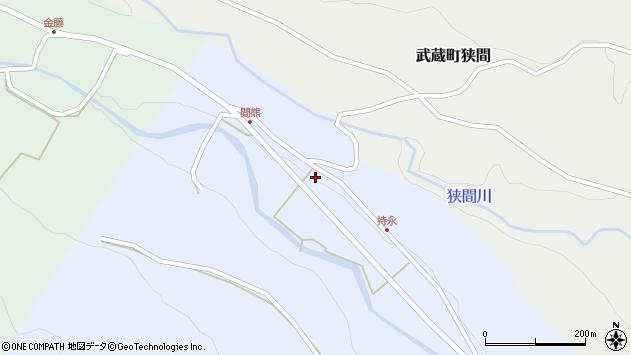 大分県国東市武蔵町麻田2069周辺の地図