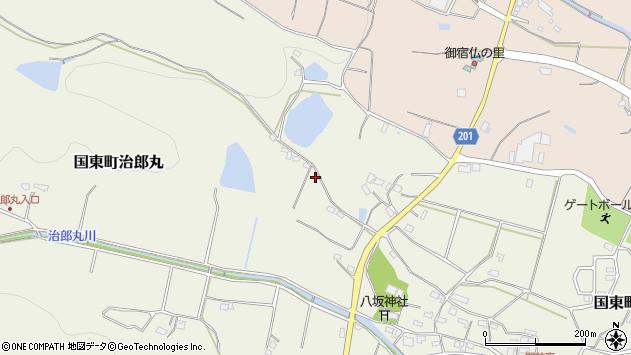 大分県国東市国東町治郎丸545周辺の地図