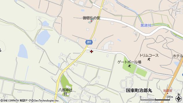 大分県国東市国東町治郎丸491周辺の地図