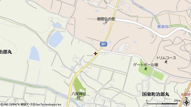 大分県国東市国東町治郎丸492周辺の地図