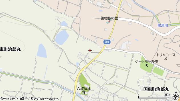 大分県国東市国東町治郎丸502周辺の地図