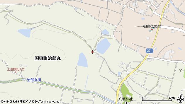 大分県国東市国東町治郎丸1222周辺の地図