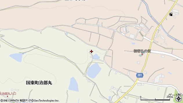 大分県国東市国東町治郎丸1232周辺の地図