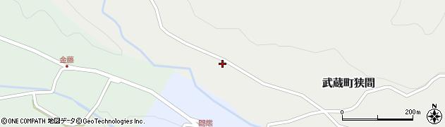 大分県国東市武蔵町狭間874周辺の地図