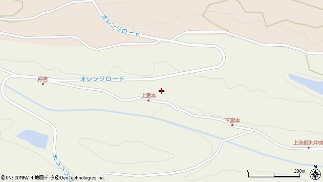 大分県国東市国東町治郎丸仲吉周辺の地図