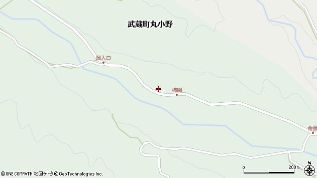 大分県国東市武蔵町丸小野1828周辺の地図