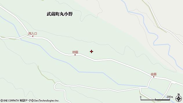 大分県国東市武蔵町丸小野周辺の地図