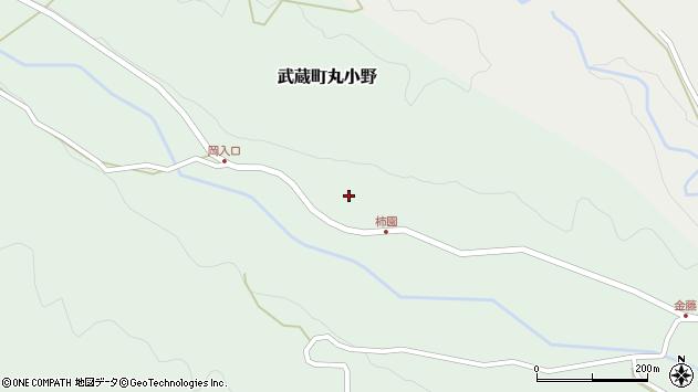 大分県国東市武蔵町丸小野1834周辺の地図