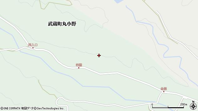 大分県国東市武蔵町丸小野1909周辺の地図