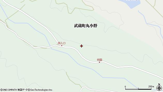 大分県国東市武蔵町丸小野1802周辺の地図