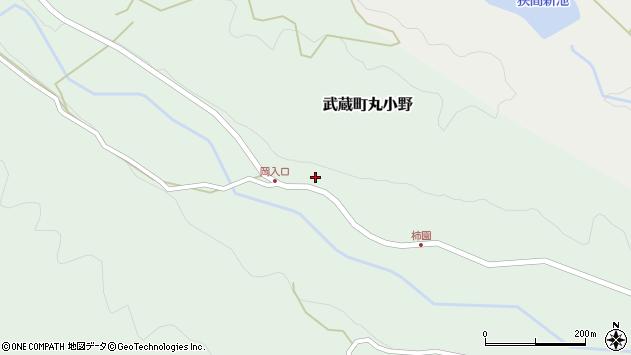 大分県国東市武蔵町丸小野1708周辺の地図