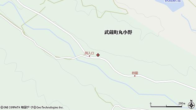 大分県国東市武蔵町丸小野1709周辺の地図
