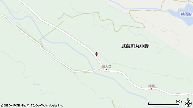 大分県国東市武蔵町丸小野1716周辺の地図