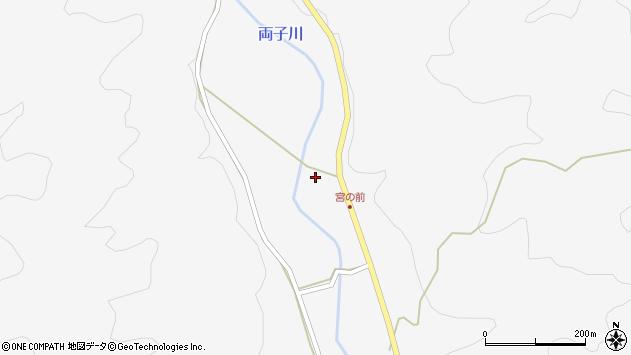 大分県国東市安岐町両子中分周辺の地図
