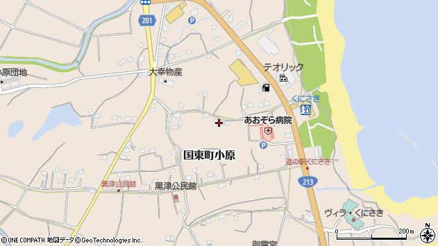 大分県国東市国東町小原2614周辺の地図