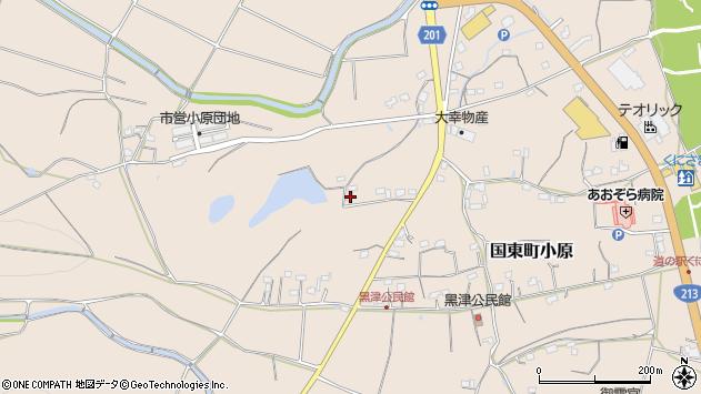 大分県国東市国東町小原2436周辺の地図