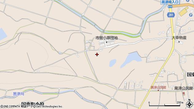 大分県国東市国東町小原赤禿周辺の地図