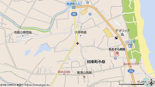 大分県国東市国東町小原2454周辺の地図