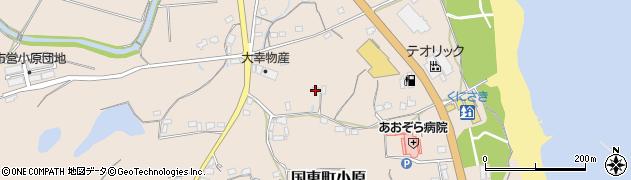 大分県国東市国東町小原2584周辺の地図