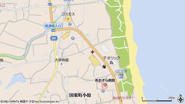 大分県国東市国東町小原2539周辺の地図