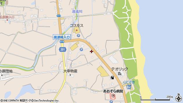 大分県国東市国東町小原1876周辺の地図