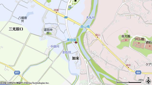 大分県中津市加来1638周辺の地図