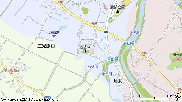 大分県中津市加来1689周辺の地図
