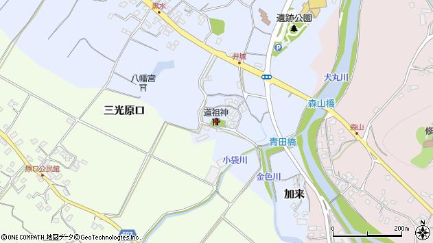 大分県中津市加来1713周辺の地図